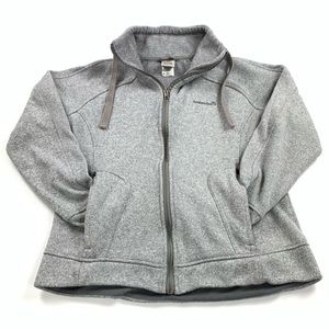 Avalanche Gray Fleece Lined Jacket Womens XL